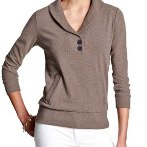 ❤ 2 for $30 Banana republic brown pullover sweater